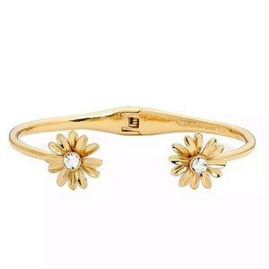 Kate Spade Dazzling Daisies Open Cuff Bracelet